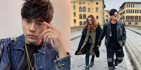Jeans, Cool, Hairstyle, Jacket, Fashion, Denim, Street fashion, Black hair, Textile, Leather jacket,