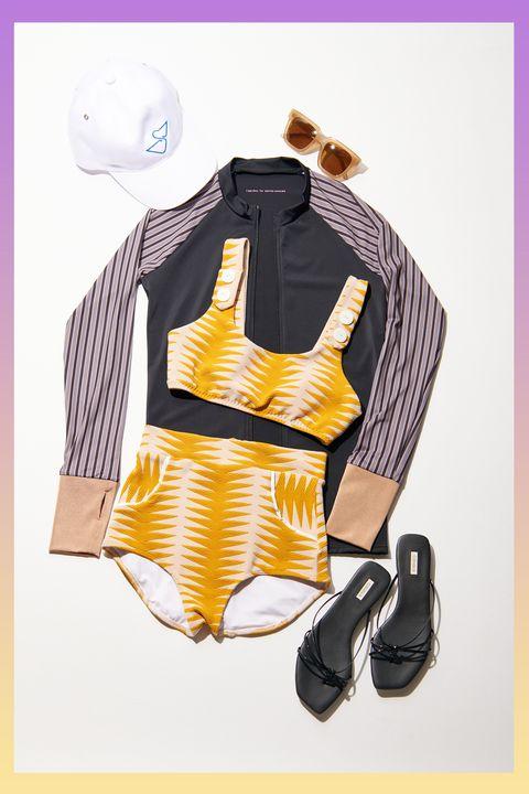 Clothing, Yellow, Product, Font, Design, Outerwear, Illustration, Fashion illustration, Pattern, Pattern,