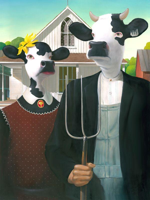 Geoffrey Gersten cow gothic