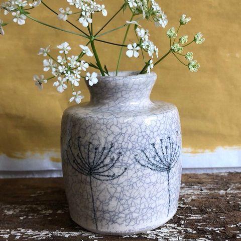 Cow Parsley Vase