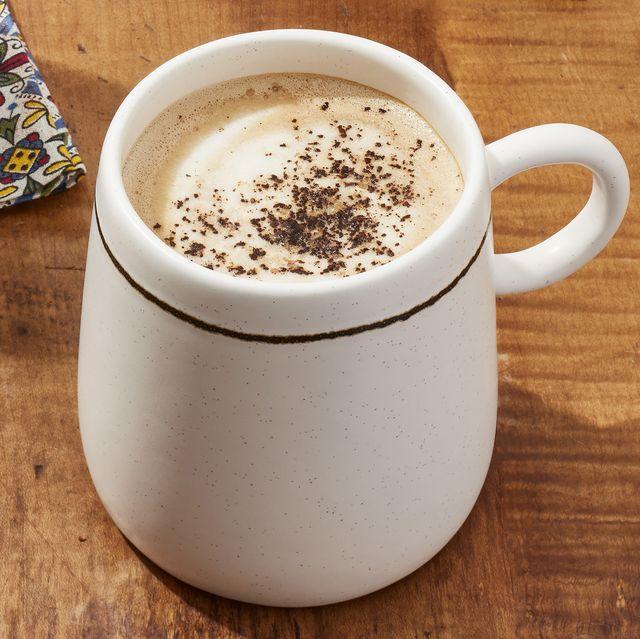 cowboy coffee in a mug