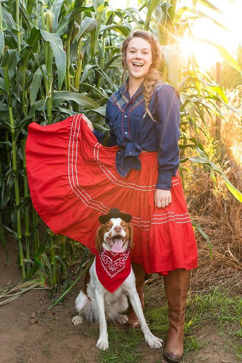 dog owner halloween costumes cowboy