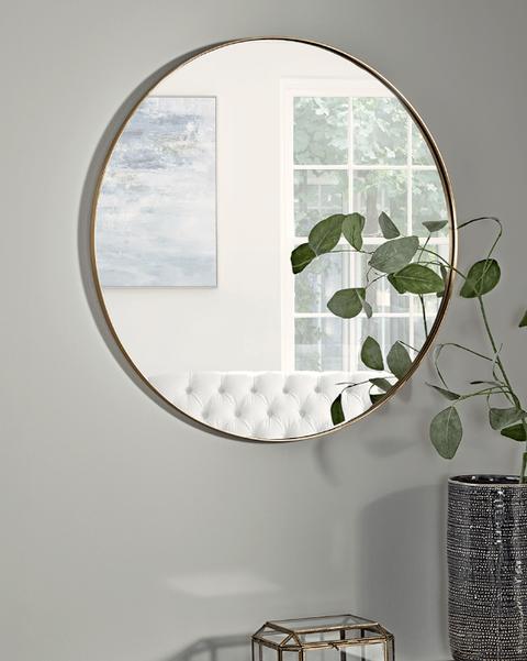 Circular mirror - hallway mirrors