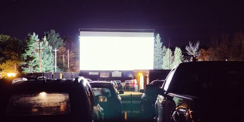 coyote drive-in movie theater
