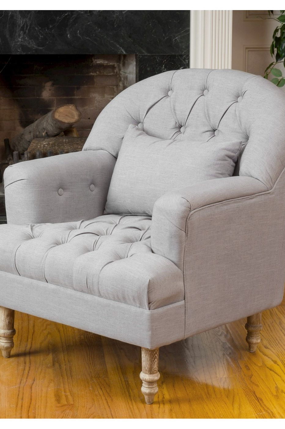 cozy chairs - christopher knight anastasia tufted chair