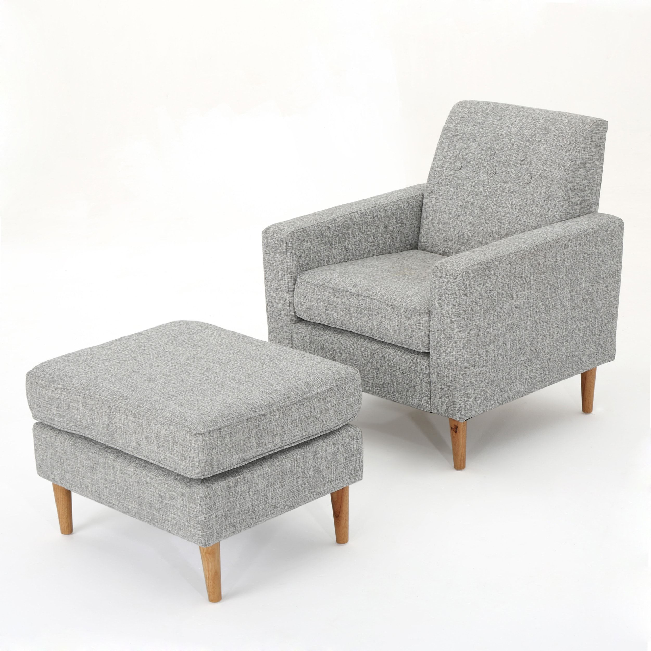 Cozy Chairs   Mid Century Modern Chair And Ottoman Set