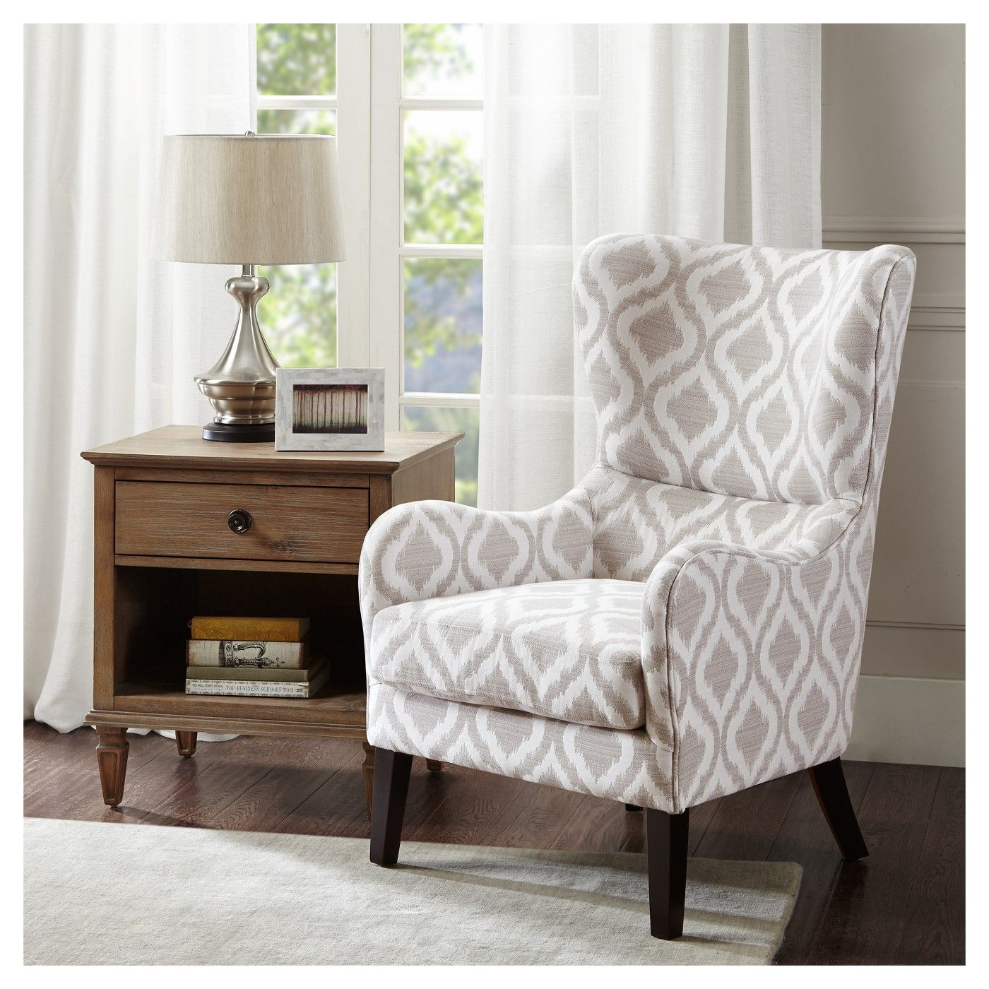 Merveilleux Cozy Chairs   Swoop Wingback Arm Chair