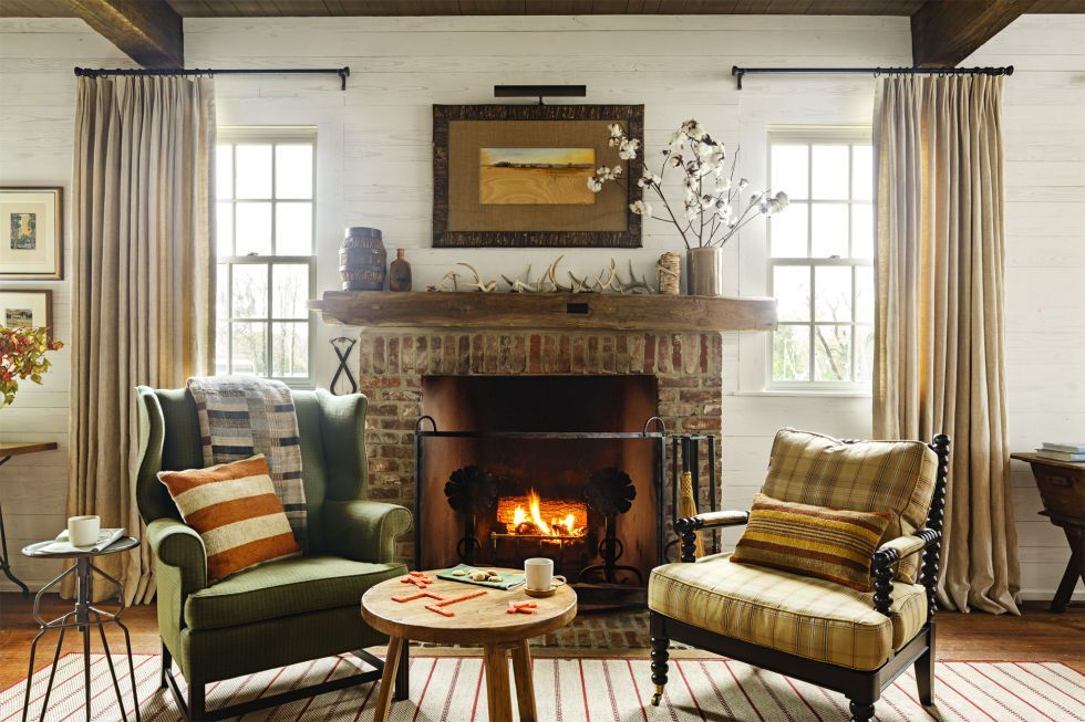 40 Cozy Living Rooms You'll Want to Hibernate In All Year Long