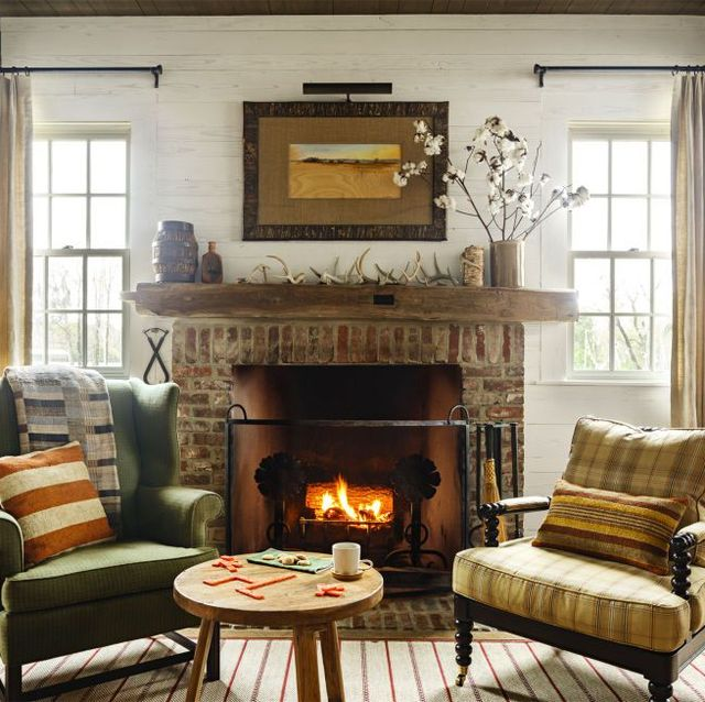 40 Rustic Living Room Ideas To Fashion Your Revamp Around: Cozy Living Room Furniture And