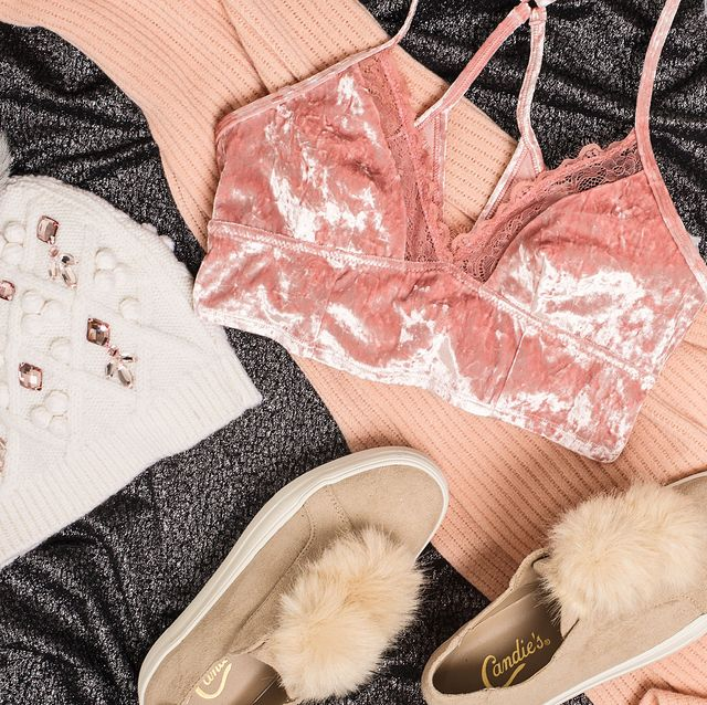 Footwear, Fur, Pink, Shoe, Feather, Fashion accessory, Lace,