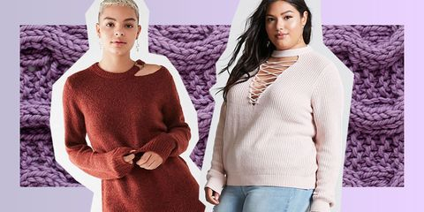 Clothing, Sweater, Outerwear, Wool, Purple, Sleeve, Neck, Shoulder, Fashion, Top,