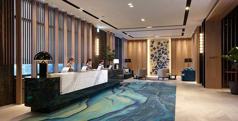 cozzi blu 和逸飯店 大廳