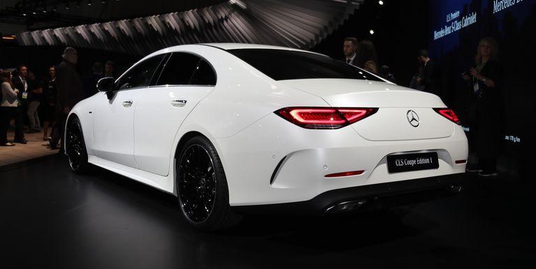 2019 Mercedes Benz Cls Four Doors Under A Fastback