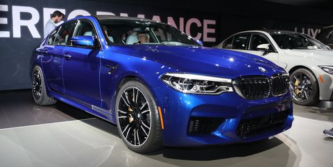 2018 bmw m5: 600 hp and all-wheel drive for $102,600