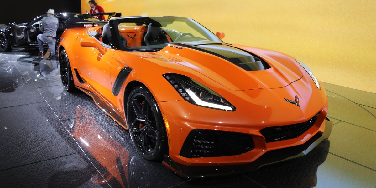 2019 Corvette Zr1 Convertible First Look At La Auto Show