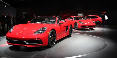 2018 Porsche 718 Cayman Gts Boxster Gts Specs Price Release Date