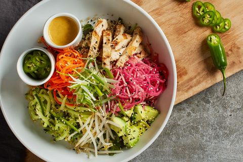 California Pizza Kitchen Bahn Mi Bowl