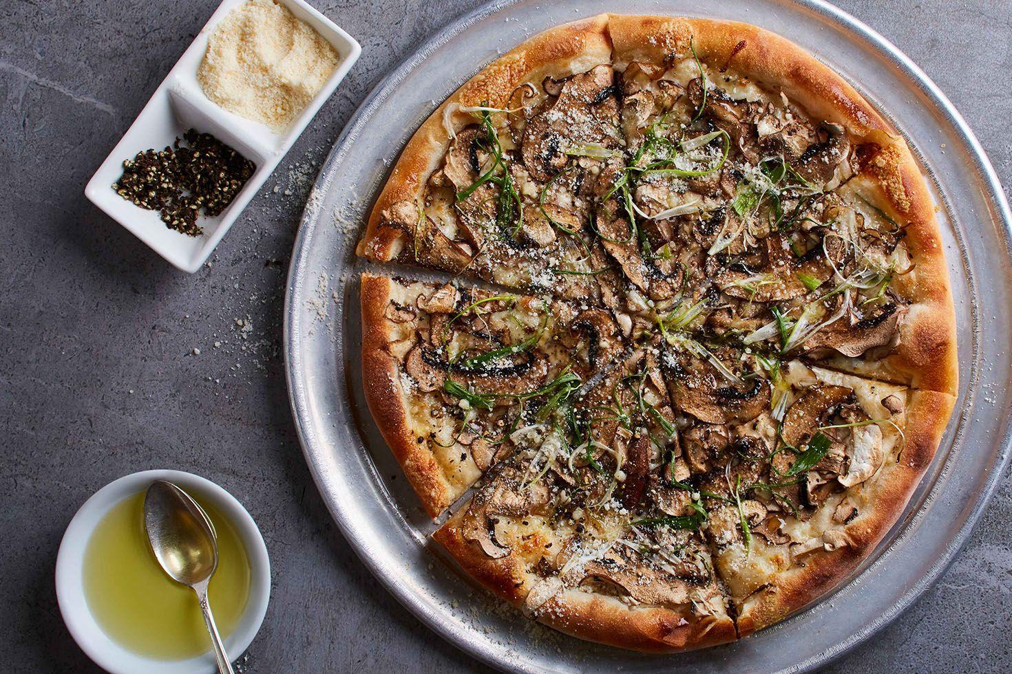California Pizza Kitchen Wild Mushroom Pizza