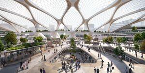 Hyperloop, il trasporto del futuro progettato da Hardt e UNStudio