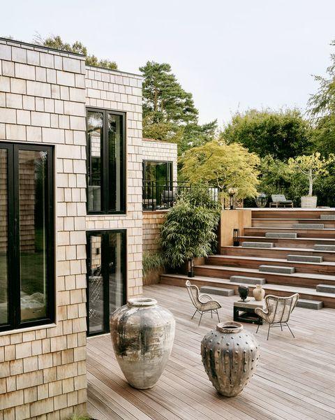 modern garden ideas and inspiration wooden terrace
