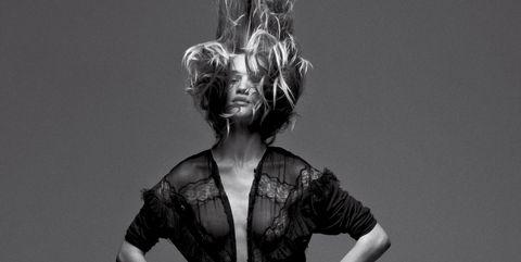 Monochrome, Style, Monochrome photography, Black-and-white, Waist, Flash photography, Day dress, Fashion model, Model, Portrait photography,