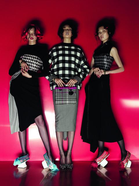 Clothing, Fashion, Pattern, Tartan, Pink, Performance, Design, Dress, Textile, Plaid,