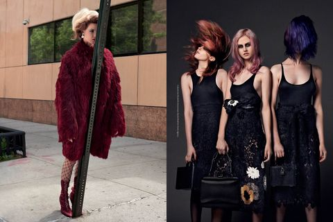 Dress, Style, Fashion, Street fashion, Little black dress, Bag, Fur, Day dress, One-piece garment, Waist,