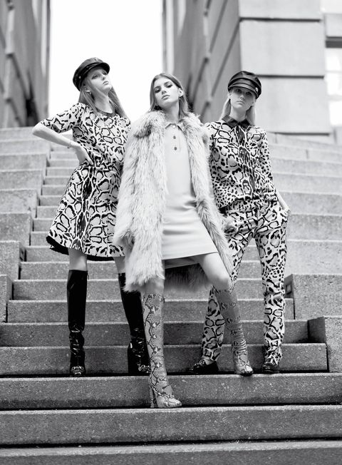 Trousers, Shoe, Stairs, Standing, Monochrome, Photograph, Human leg, White, Style, Street fashion,
