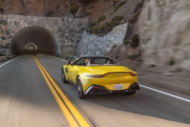 Aston Martin Vantage Roadster Is Still British By Jove
