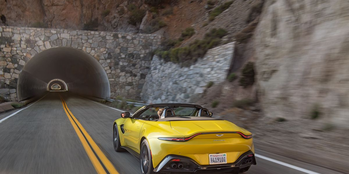 Aston Martin Vantage Roadster is Still British, By Jove!
