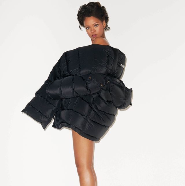 Clothing, Fashion model, Black, Shoulder, Dress, Fur, Fashion, Cocktail dress, Outerwear, Sleeve,