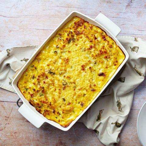 crab chowder pasta bake