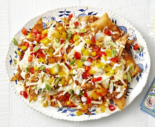 crab rangoon nachos