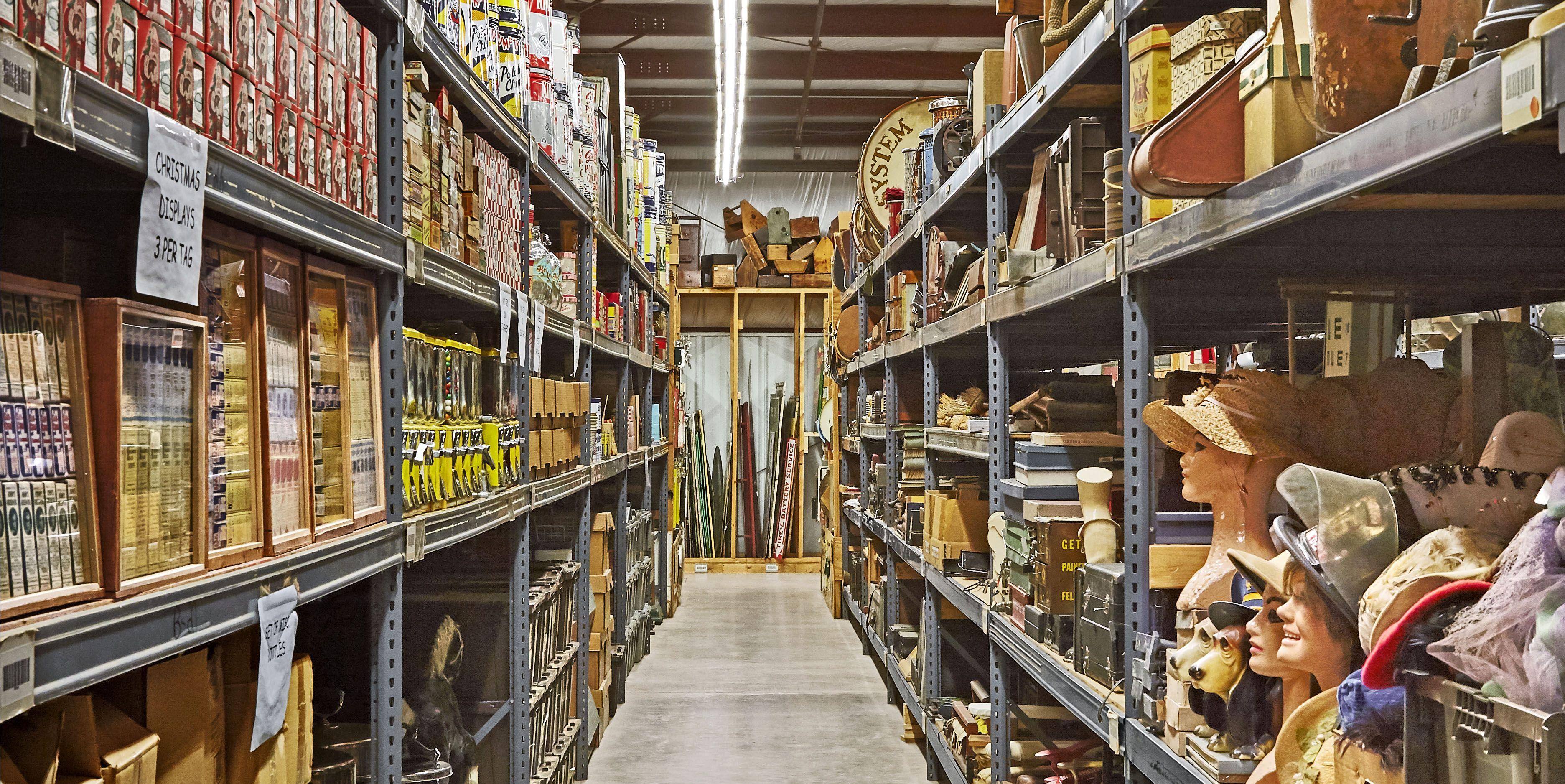 Take a Peek Inside the Cracker Barrel Antiques Warehouse