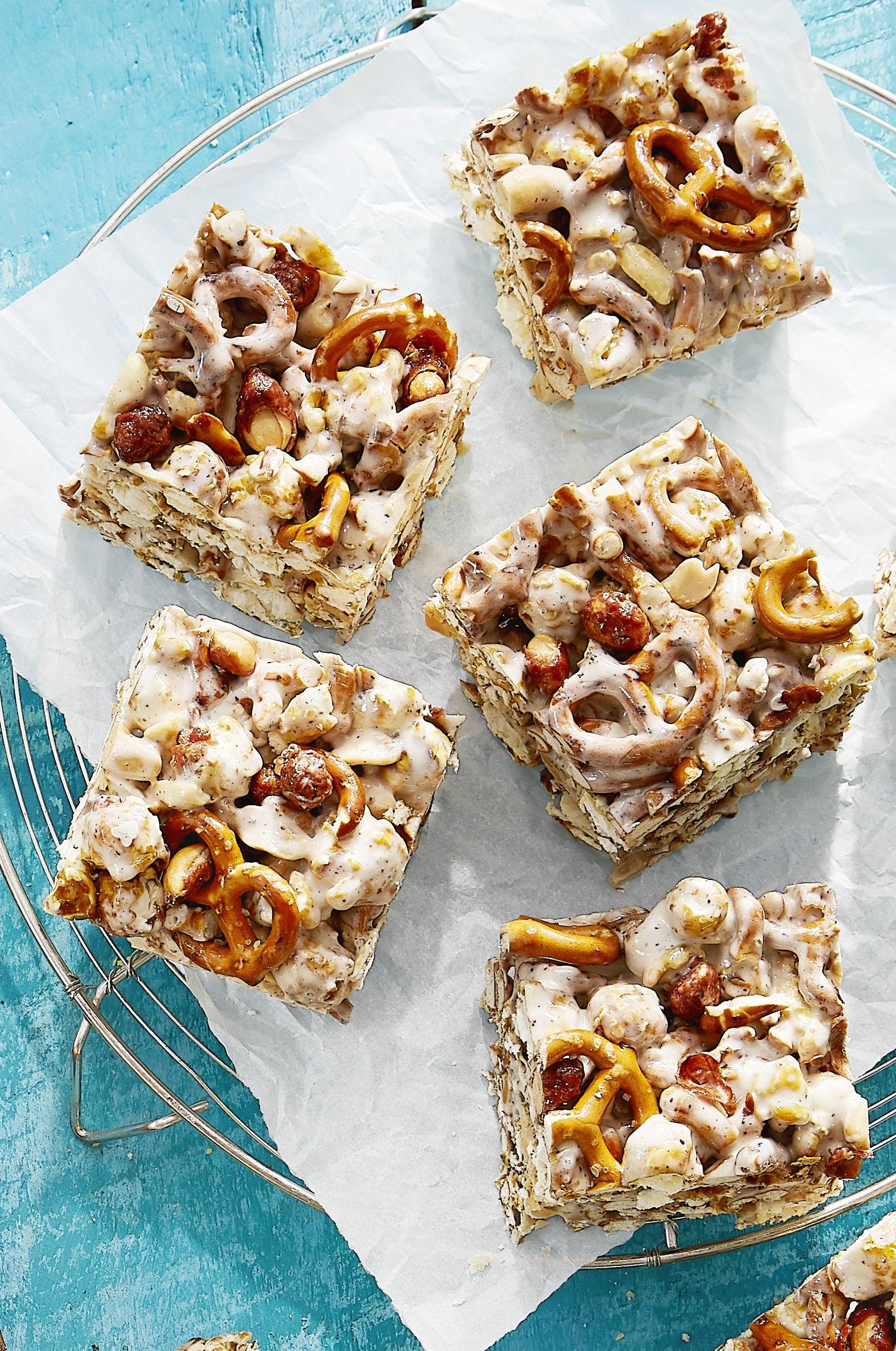 cracker jack pretzel treat recipe