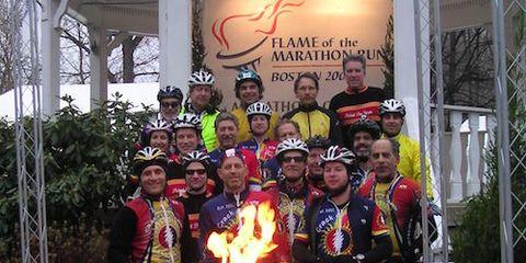 Crack O' Dawn Cyclists