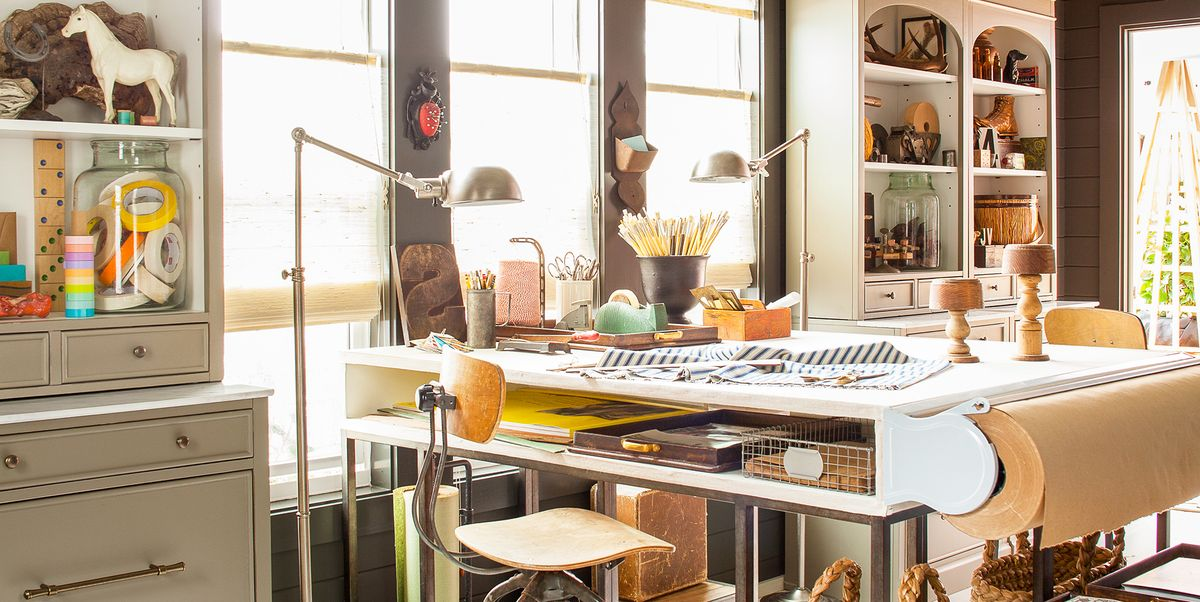 19 Ways to Turn Any Spot in Your Home Into a Creative Space