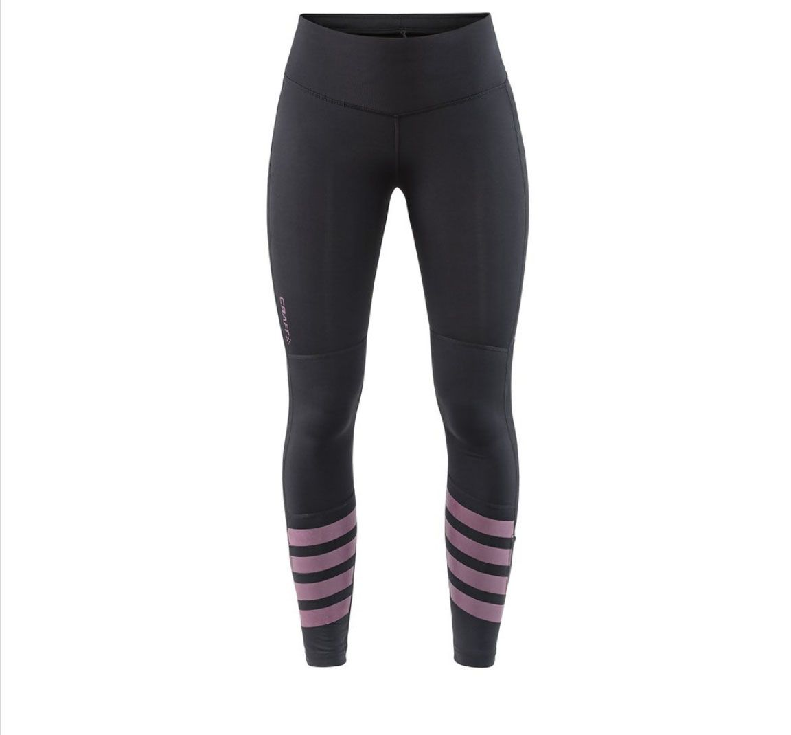 Craft Womens Essential Warm Training Soft Jersey Tights//Pants