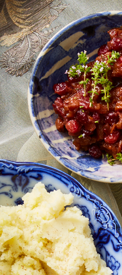 cranberry apricot compote