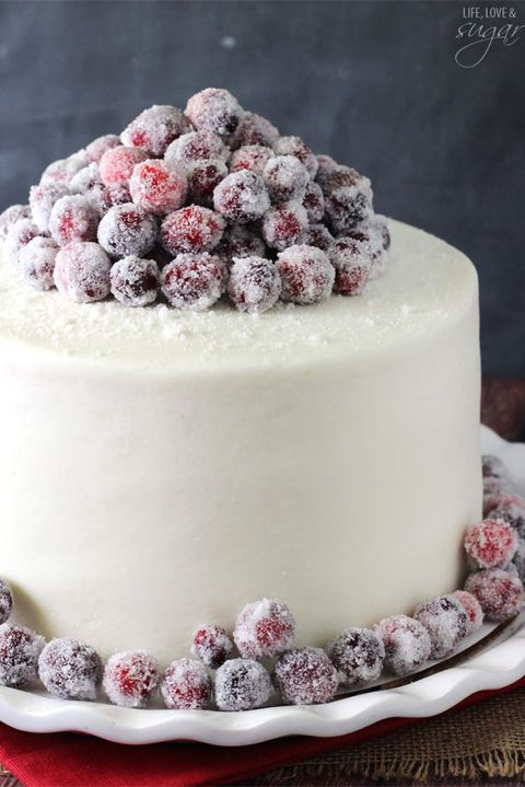 thanksgiving cake recipes cranberry