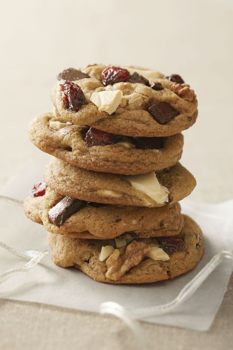 cranberry chocolate chunk cookies christmas food gifts