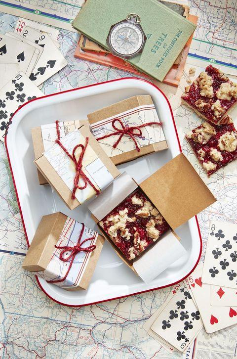 cranberry crumb bars recipe