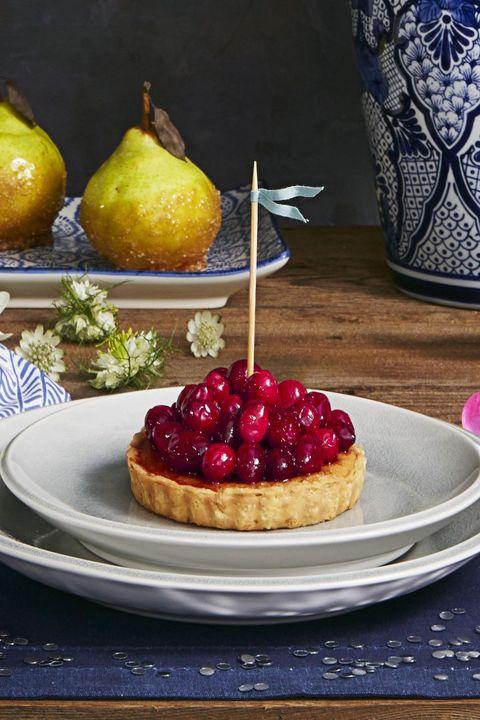 Cranberry Desserts — Cranberry Frangipane Tarts