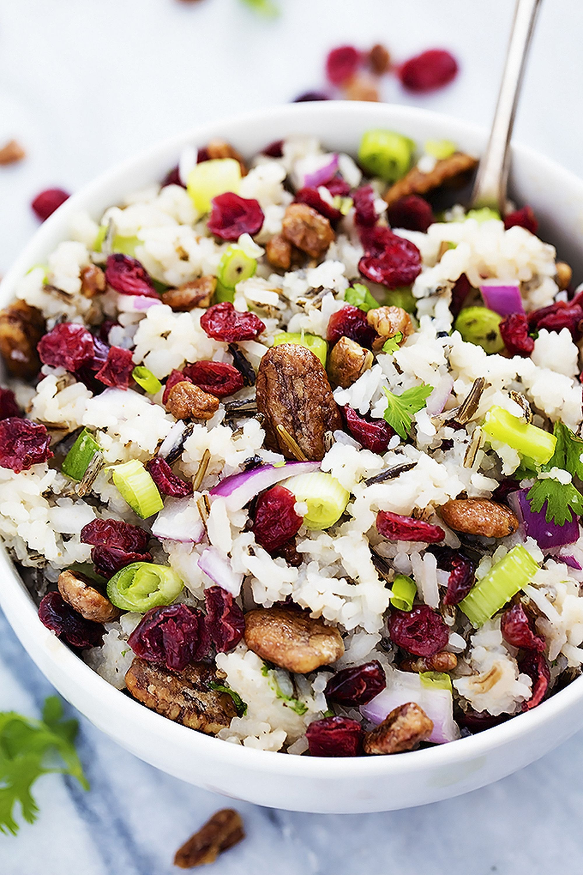 cranberry recipes salad