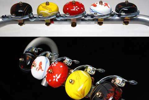 Crane Handpainted Bike Bell