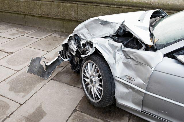 crash car side view