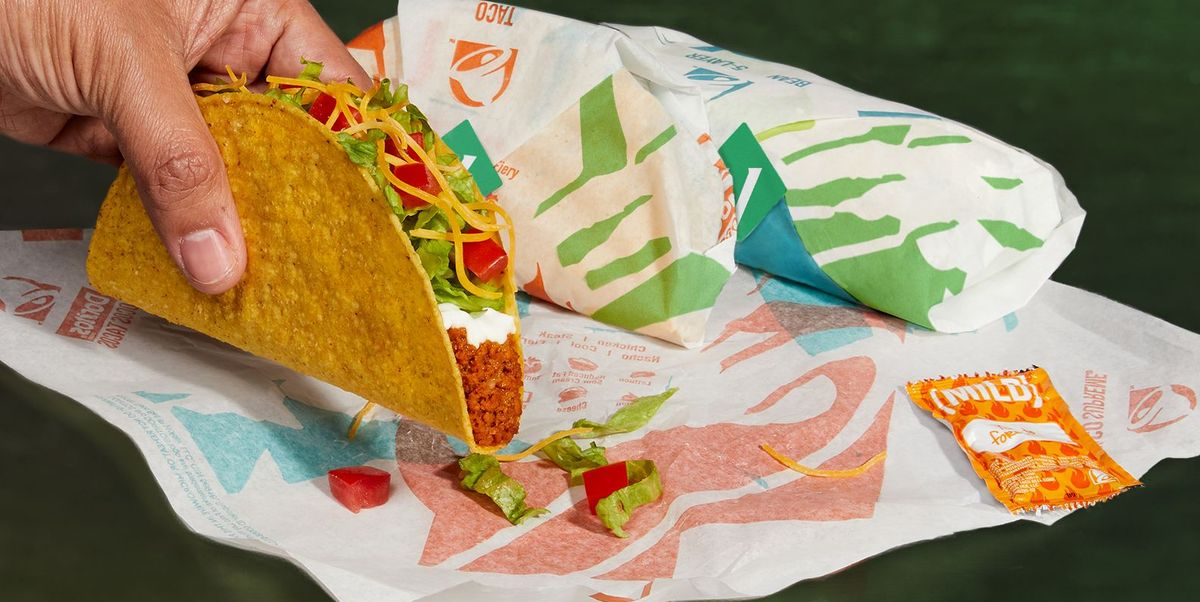 Taco Bell Is Testing A Plant-Based Protein In A New 'Cravetarian' Taco