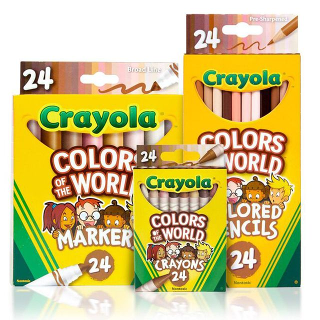 crayola colors of the world collection