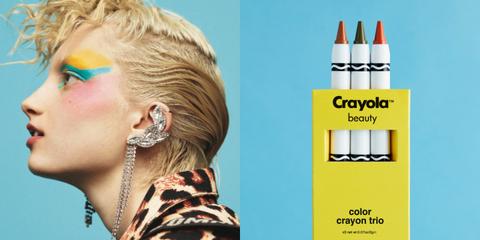Maquillaje Asos Crayola
