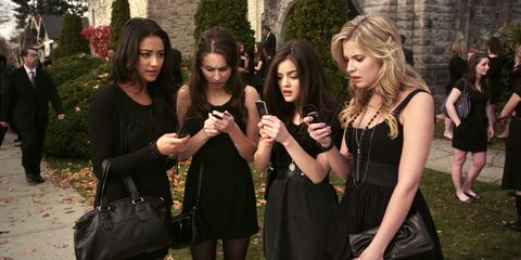 The 79 Craziest Messages A Ever Sent The Pretty Little Liars